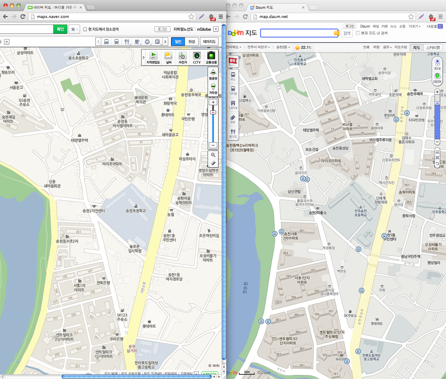 How to find bus routes in Korea and why Daum Maps is better than